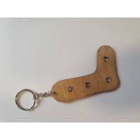 Mini Sock Blocker Key Ring