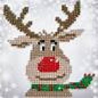 Christmas Reindeer Diamond Dotz