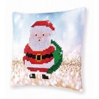 Santa Claus Sack Mini Pillow