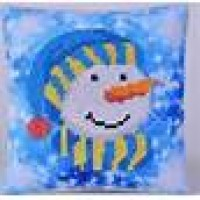 Snowman Cap Mini Pillow