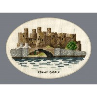 Conwy Castle / Castell Conwy (oval)