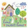 Home Sweet Home Counted Cross Stitch Kit by DMC