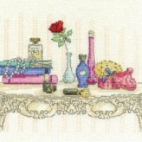 Beauty Counted Cross Stitch Kit