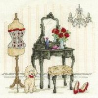 Le Boudoir Counted Cross Stitch Kit
