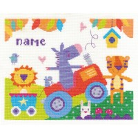 Fun Day Counted Cross Stitch Kit by DMC
