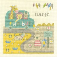 Baby Bus Stop Counted Cross Stitch Kit by DMC