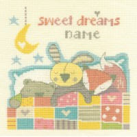 Sweet Dreams Counted Cross Stitch Kit by DMC