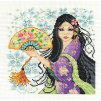 Geisha Counted Cross Stitch Kit