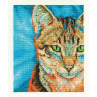 Tabby Counted Cross Stitch Kit by DMC