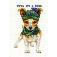 Jack Russell Counted Cross Stitch Kit by DMC