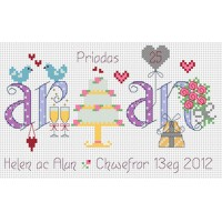 Priodas Arian - Silver wedding anniversary