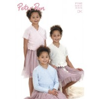 Ballet Top with long or short sleeves in Peter Pan DK