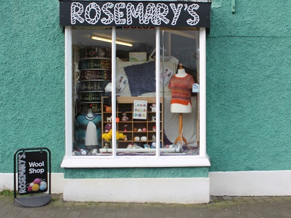Rosemary's Woolshop Store Front